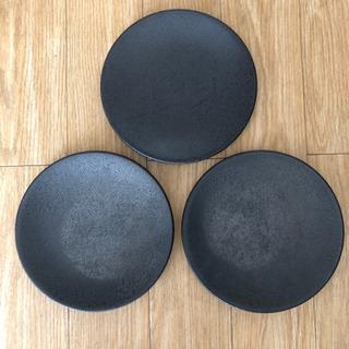 平皿 黒 (合計7枚)の画像