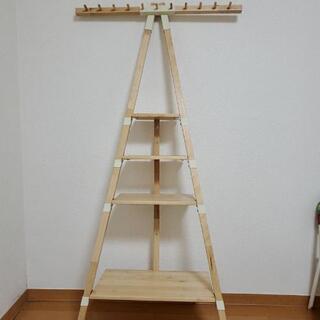 【めっちゃおしゃれ】イケア 木製 飾り棚 − 神奈川県