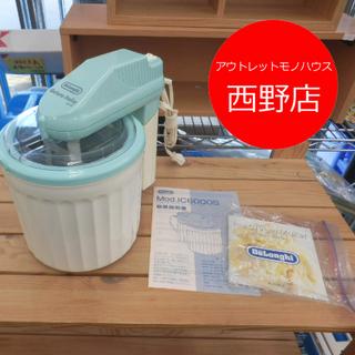 ▶電動アイスクリームメーカー デロンギ IC6000S 取説付き...