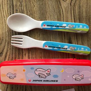 《新品未使用》JAL スプーン、フォーク カトラリーセット