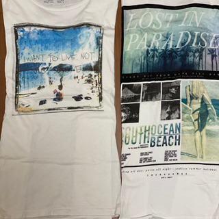 メンズ Tシャツ 2枚組