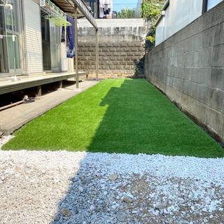 人工芝 芝丈35mm、5平米分格安で施工します☘