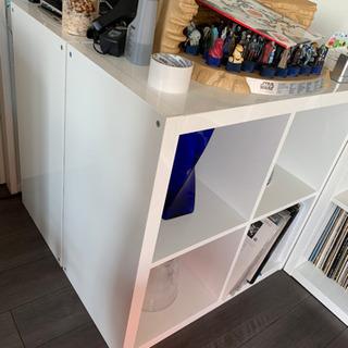 IKEA 飾り棚 KALLAXハイグロス 小
