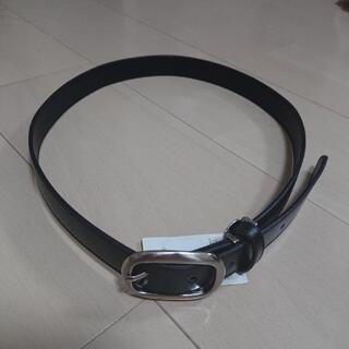 【新品・未使用】レディース スーツ 牛革ベルト 黒