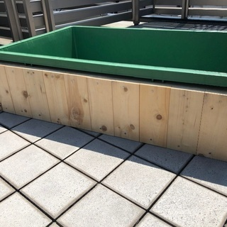 プラ舟80ℓ 手作り木枠専用台セット