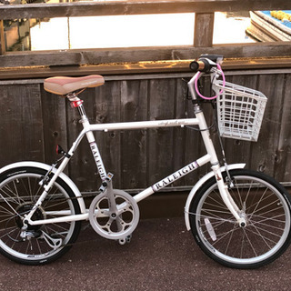 ラレー ミニベロ 20インチ  自転車