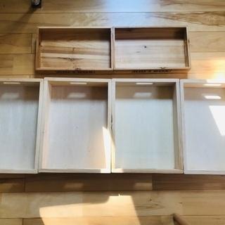 【美品】ウッディプッディ お片付け木箱