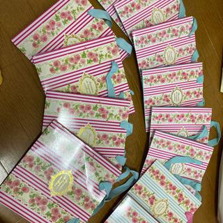 紙袋 大小12枚 ショッパー ケーキ 花