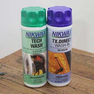 ニクワックス(NIKWAX) ツインパック 【洗剤】【撥水剤】 ...