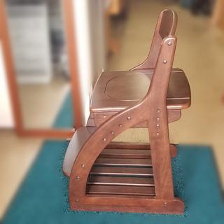 【札幌市内配送可能】ニトリ 学習イス WTN-14  勉強 椅子 子ども用 高さ調節可能 - 家具
