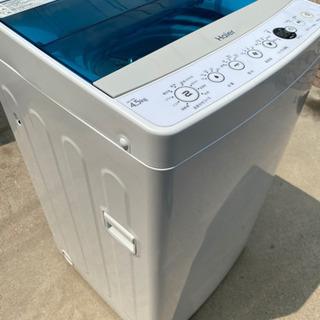 2017年製 ハイアール 4.5kg 全自動洗濯機 ホワイトHa...