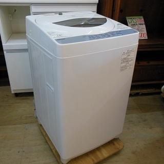 TOSHIBA 5.0㎏ ステンレス槽 全自動洗濯機 AW-5G...