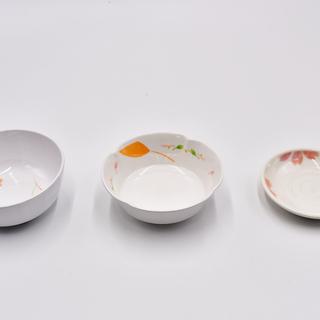介護食器 割れにくい メラミン 丸小鉢 和皿