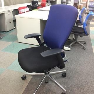 中古 良品 ウチダ 高級オフィスチェア 事務椅子 高級ガス…