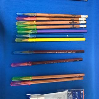 鉛筆と消しゴムの画像