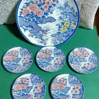 和皿 大皿 小皿5枚 セット