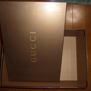 グッチ/サンローランパリ 靴の空き箱
