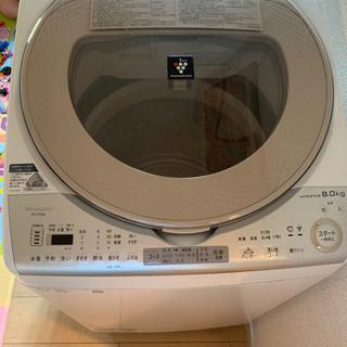 シャープ 全自動洗濯機 2018年製