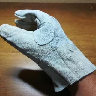 革手袋(キャンプ、溶接など)