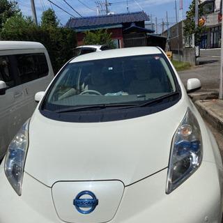 リーフX  電気自動車 車検4年8月まで