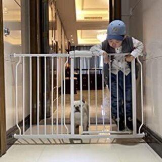 【未使用】簡単に設置 エルフ ベビー ベビーゲート 階段上 取付...