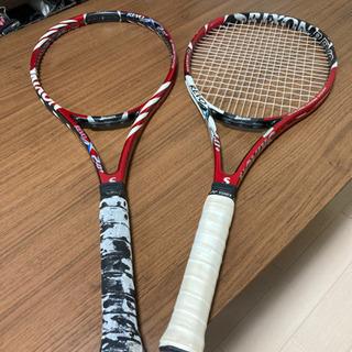 テニスラケット2本 SRIXON