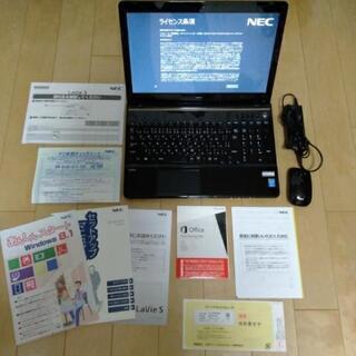 ノートパソコン NEC LaVie LS350 SSB 2014モデル