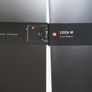 ライカ カタログ5部 価格表付 美品 LEICA S M …