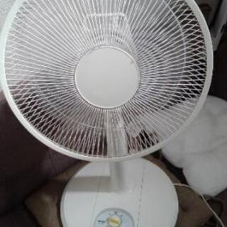 【美品】YAMAZEN 30㎝ リビング扇風機 DHMT-…