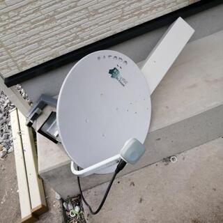 テレビアンテナとbsアンテナ 架台付