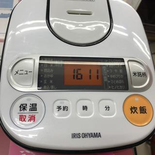 アイリスオーヤマ 銘柄炊き RC-MA30-B 2017年製 3...