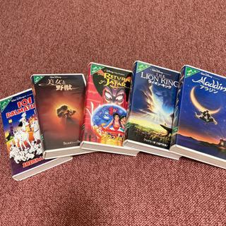 ディズニー 名作VHSビデオ まとめて0円