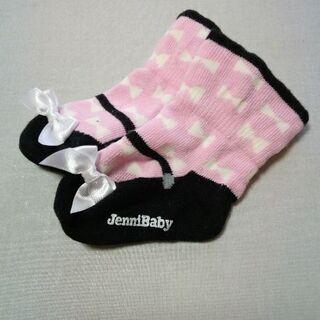 子供服47 ベビー靴下未使用女の子用 JenniBaby サイズ8cm