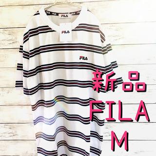 ユニセックス FILAフィラボーダーTシャツM