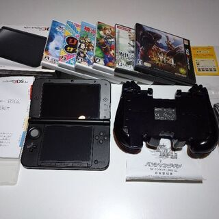 NINTENDO 3DS LL 本体+ソフト6本付き