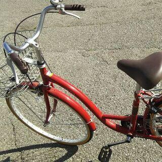 【取引中】 シエロア  赤  サイズ26  自転車