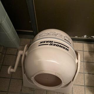 手動洗濯機