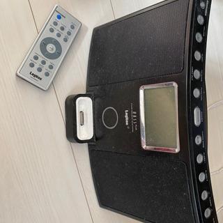 iPod用コンポ スヌーズ機能、ラジオあり