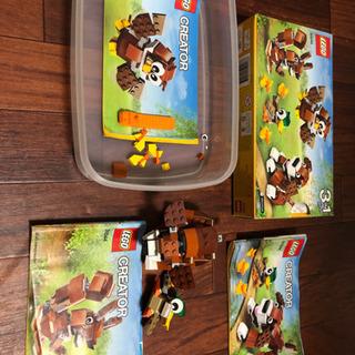 LEGO 31044 クリエイター 動物 パーツ確認済み