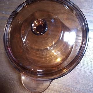 耐熱ガラス製 鍋、片手鍋の画像