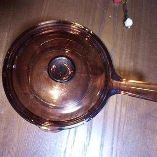 耐熱ガラス製 鍋、片手鍋 - 生活雑貨