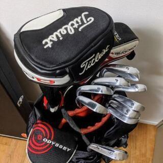 【値下げ】ゴルフクラブセット 練習用ケース、発送用カバーなどおま...