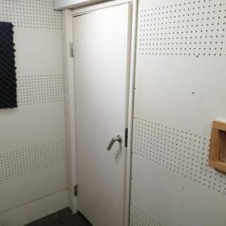 ★防音ドア 収録スタジオ レコーディングスタジオにて使用 …