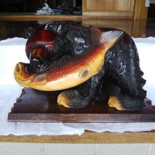 【値下げ】アイヌ木彫りの熊