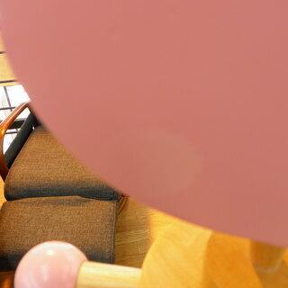 ポールハンガー キッズ 木製 ハート 高さ118cm ナチュラル×ピンク×ホワイト 札幌 西岡店  - 家具