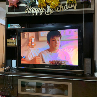 ハードディスク内蔵TV