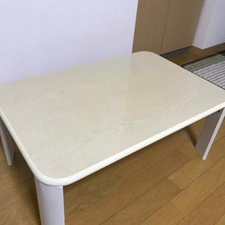 折り畳みテーブル 白 お取引相手様決定