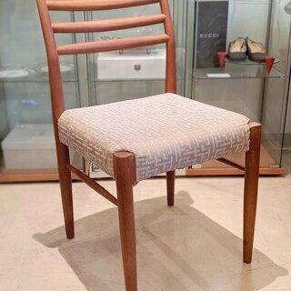 【北欧家具/デンマーク】チーク材のビンテージチェア 【1960年...