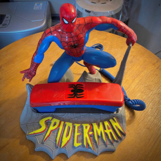 【取引完了】90s スパイダーマン USA限定 電話機 レア物