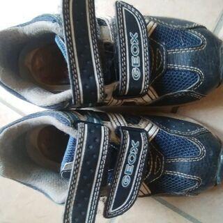 GEOX サイズ15 光る靴